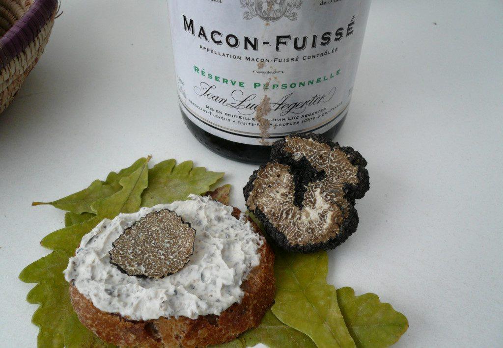"""Saint Môret à la """"Truffe de Bourgogne"""""""